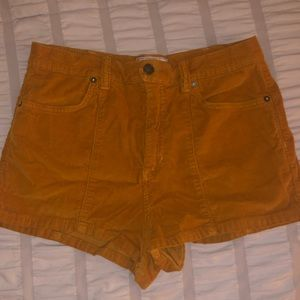 Free People Shorts - Free people High waisted corduroy shorts
